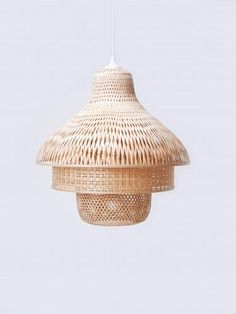 Bamboo Lamps by Daphna Laurens for FairForward