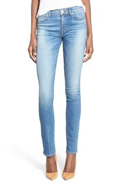 Hudson Jeans 'Shine' Skinny Jeans available at #Nordstrom