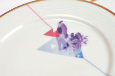 """plate   """"we are family"""" series of reunited, not new porcelain pieces by kollektiv plus zwei Create Your Own Website, We Are Family, Studio, Create Yourself, Porcelain, Plates, Licence Plates, Porcelain Ceramics, Dishes"""