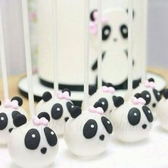 'Epic Panda with hammer' by Rhoar Panda Party, Panda Themed Party, Bear Party, 2nd Birthday Parties, Birthday Party Decorations, Party Themes, Panda Birthday Cake, Bolo Panda, Panda Cupcakes