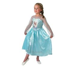 Cute Elsa Costume from Frozen. What are you dressing up as this year?