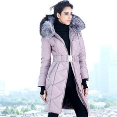 Cheap Down Coats on Sale at Bargain Price, Buy Quality elegant winter jacket, women winter down jacket, womens winter jackets from China elegant winter jacket Suppliers at Aliexpress.com:1,modeling clothing:slim 2,Filling:White duck down 3,Hooded:Yes 4,combination form:separate 5,collar type:with a hood
