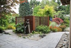 Zen-like garden with nature in mind. | Garden Design