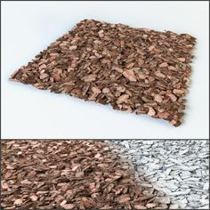 Mulch of pine bark by phenom_arch