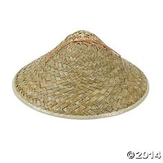 These Adult's Straw Asian Hats add an instant splash of fun to any Asian costume or event! They're also great as Chinese New Year decorations and party favors. with ribbon ties. Chinese New Year Party, Chinese Theme, Chinese New Year Decorations, New Years Decorations, New Years Eve Party Ideas Food, New Years Party, Warrior Princess Costume, Ninjago Party, Ribbon Work