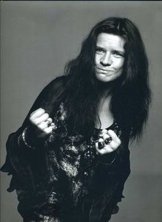 Janis Joplin      by: Richard Avedon