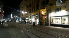 Landstr by night Street View, Night, Linz, City