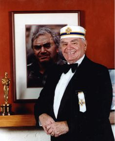 Ernest Borgnine! 33 degree Scottish Rite Mason! Can open canned ham with his fershuggin mind!