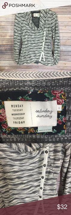Saturday Sunday Anthropologie Sweater Cardigan Excellent used condition! Anthropologie Sweaters Cardigans