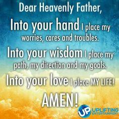 Trusting in Him..