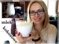 Zobaczcie jak łatwo i szybko można zrobić domowe mleko kokosowe. Nie warto… Glass Of Milk, Drinks, Cooking, Tips, Youtube, Smoothie, Food, Drinking, Kitchen