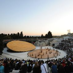 OMAhave created a stage set for an ancient outdoor theatre inSicily that dates back to thefifth century BC.