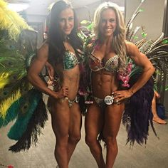 Angie Snyman and Jenadine Havenga