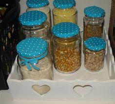 Todo Lar merece uma Fofurice :): Re-aproveitando os vidros de azeitona, de doces, de palmito, etc...