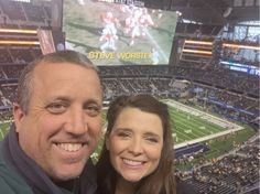 What a day! #CottonBowl with my wife! Moments like this brought to you by http://smalley.cc/reignite/