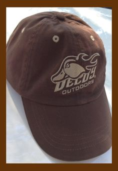 d2fc6f36c5739 Decoy Outdoors Brown Waterfowl Hat with Mallard Logo. Decoy Outdoors Brown  Hat with a Light