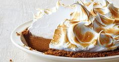 Put an autumn twist on a traditional meringue pie with this fantastic sweet potato version!