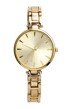 Reloj de pulsera de metal