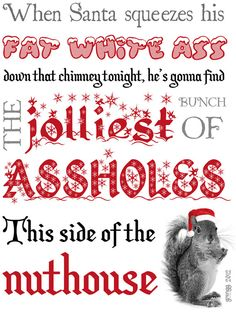 Clark Griswold Christmas Quote by GrenggDesigns on Etsy, $15.95