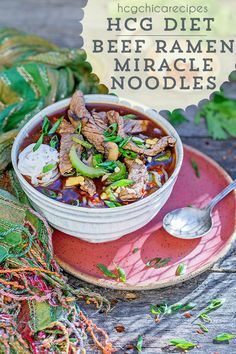 Phase 2 hCG Diet AP (Alternate Protocol) Beef Recipe: Mushroom Ramen Soup with Miracle Noodles - 189 calories per serving Hcg Diet Recipes, Diet Dinner Recipes, Beef Recipes, Healthy Recipes, Hcg Meals, Omelette, Protein Veggie Meals, Celery Recipes, Fast Metabolism Diet
