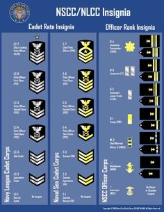 Naval Sea Cadet rate and adult officer rank chart...I started as a volunteer active duty enlisted instructor in 1985, and was invited to accept a commission as a Warrant Officer 2 (WO2) in the NSCC Officer Corps...I left the organization in 1994 as a Lieutenant (jr. grade) (LTJG)...