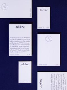 Adeline Branding by Britta Fuchs Cards Against Humanity, Branding, Studio, Handmade, Fox, Brand Management, Hand Made, Studios, Identity Branding