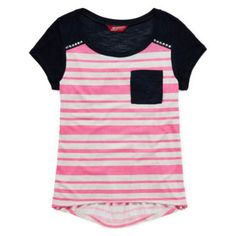 Arizona Short-Sleeve Stud Tee – Girls 7-16 and Plus  found at @JCPenney