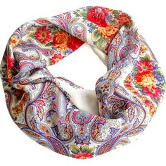 Angelika Scarf White now featured on Fab.