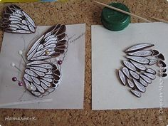 Butterfly tutorial - Quilling Deco Home Trends 3d Quilling, Quilling Images, Quilling Butterfly, Quilling Animals, Paper Quilling Jewelry, Origami And Quilling, Quilled Paper Art, Quilling Paper Craft, Diy Paper