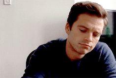 """Sebastian, will you do my homework.. Or me?"" // thewhitelies // sebastian stan gif"