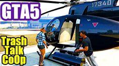 GTA 5 CoOp PS4 #34 TRASH TALK
