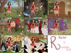 :.O Diário de Ideias.:: Alice no País das Maravilhas - Rachel