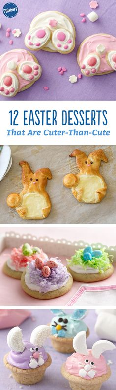 12 Easter Desserts That Are Cuter-Than-Cute - These darling desserts are bunny approved!