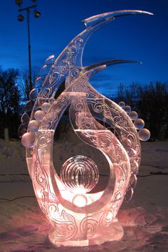 olympic torch ice carving Visit http://www.brides-book.com for more great wedding resources