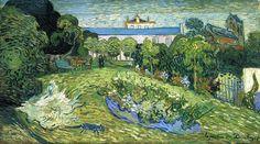 Page: Daubignys Garden Artist: Vincent van Gogh Completion Date: 1890 Place of Creation: Auvers-sur-oise, France Style: Post-Impressionism Genre: landscape Technique: oil Material: canvas Dimensions: 54 x 101 cm