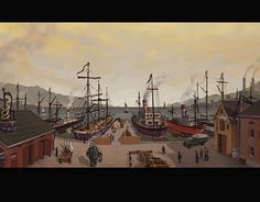 """Check out new work on my @Behance portfolio: """"Sea Port"""" http://be.net/gallery/52546795/Sea-Port"""