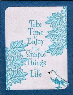 Inge's Creatie: Simpel