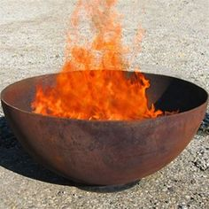 Big Bowl O'Zen - Does Dad love the outdoors? In addition to his man cave, give him his own outdoor space to hang with friends around a big bowl of fire.