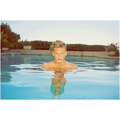 Imagine swimming in a pool with Cody