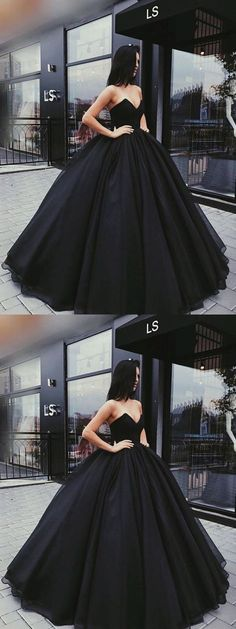 Stylish A-Line Sweetheart Ball Gown Black Satin Long Prom/Ev.- Stylish A-Line Sweetheart Ball Gown Black Satin Long Prom/Evening Dress prom,prom dress, black prom dress, evening dresses, 2018 prom dress - Prom Dresses 2018, Cheap Prom Dresses, Quinceanera Dresses, Evening Dresses, Dress Prom, Wedding Dresses, Party Dress, Wedding Shoes, Gown Dress