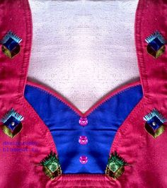 Kameez neck design: punjabi kameez neck designs
