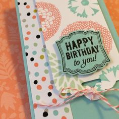 stampin up tag topper punch | am having so much fun stamping! I stayed up til 3am watching old ...