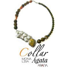 Collar Mona Lisa Ágata