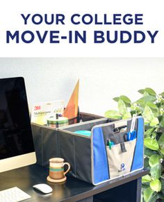 Make college move-in day easy with this foldable organizer...carry cloths, books or supplies! http://amzn.to/2aQM4GM  Whether you are moving into your dorm or apartment this foldable organizer will you let you get the most from your trips.  When move-in day is over store in your car trunk to keep items from moving or carry in groceries, also makes great storage in the apartment.