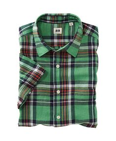 Women's, Men's and Kids' Clothing and Accessories Uniqlo, Baby Kids, Kids Outfits, Plaid, Shirt Dress, Suits, Children, Mens Tops, Cotton