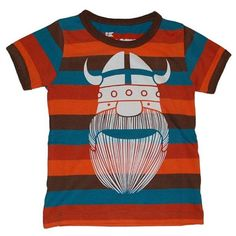 Danefae Lille Ringer Striped Viking Eric T-Shirt