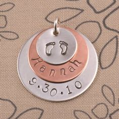 More ideas for stamping...this would be cute for a mom or grandma.