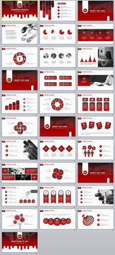 24+ Simple Blue Business report PowerPoint Template 2018 best - business report templates