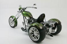 OCC Green Trike #DisturbedRides #DisturbedTendencies