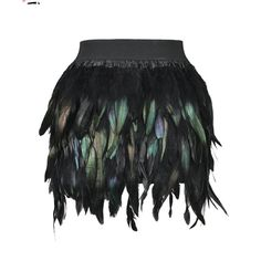 Add a little sass to your wardrobe with this delight! This saucy mini has a stretch waist for comfort and poly feathers which makes it decedent enough for clubbing and comfy enough to dance and flirt